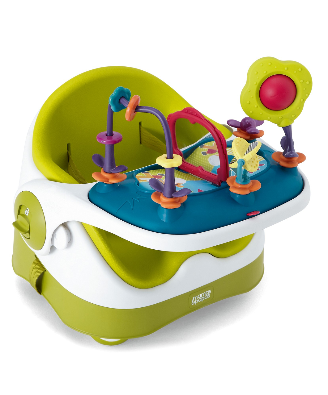 Baby Bud  sc 1 st  Tales of a Twin Mum & Review: Mamas u0026 Papas Baby Bud booster seat with activity tray ...