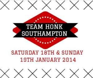 southampton team honk badge